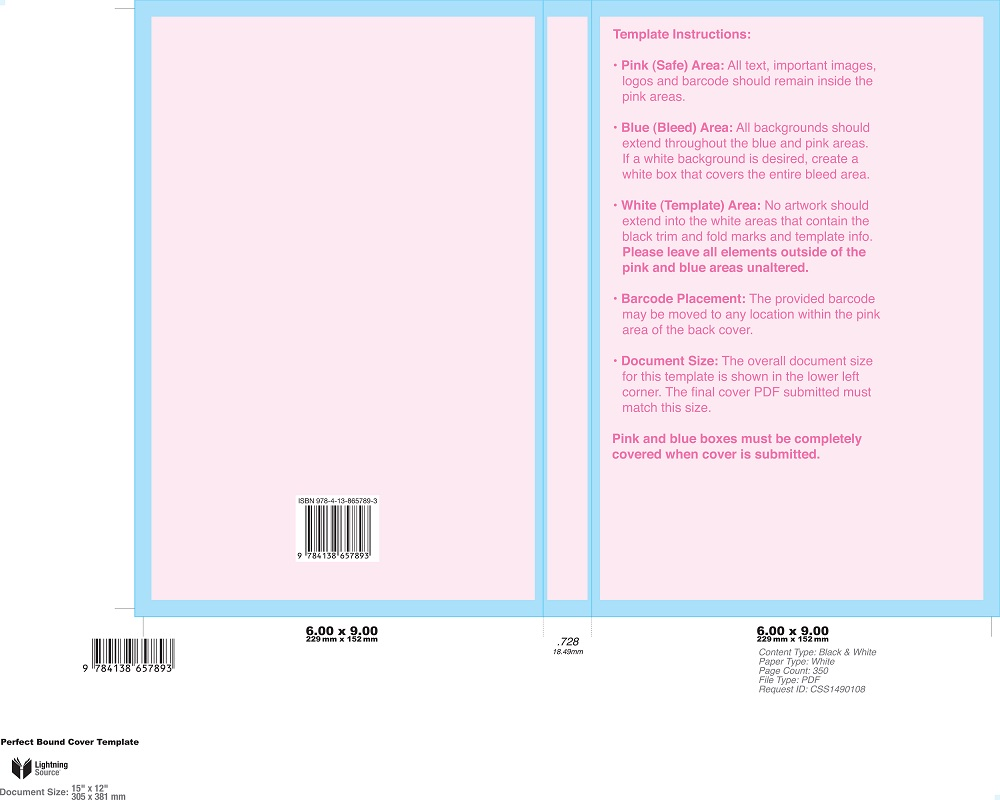 From Their Website Youu0027ll Need To Know The Booku0027s ISBN, Trim Size, Interior  Color, Paper Type, Binding Type, Laminate Type And Page Count, Enter In  Your ...