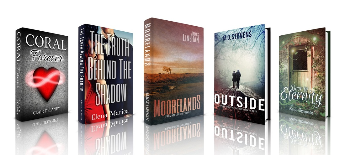 selection of book cover designs