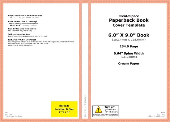 templates for book cover design